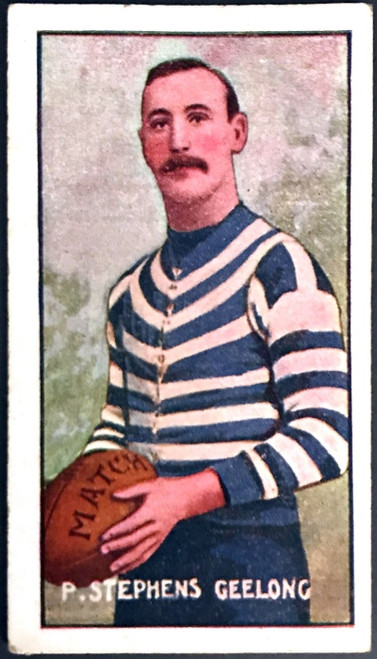 1907 Standard Cigarettes- Sniders & Abrahams C Series P STEPHENS Geelong Cats