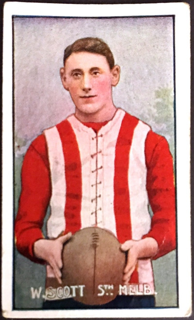 1907 Standard Cigarettes- Sniders & Abrahams C Series W SCOTT South Melbourne Swans
