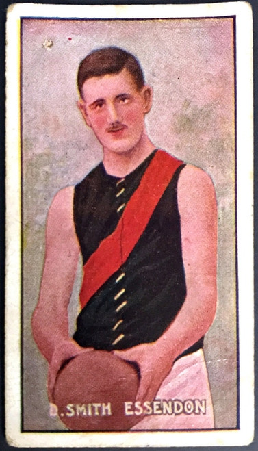 1907 Standard Cigarettes- Sniders & Abrahams C Series D SMITH Essendon Bombers