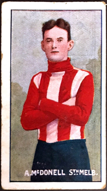 1907 Standard Cigarettes- Sniders & Abrahams C Series A McDONNELL South Melbourne Swans