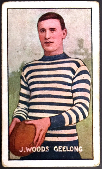 1907 Standard Cigarettes- Sniders & Abrahams C Series J WOODS Geelong Cats