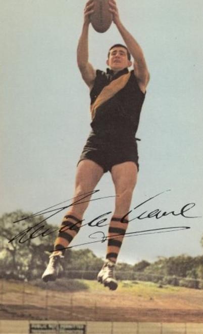 1965 Mobil Football Photos Card NEVILLE CROWE Richmond Tigers