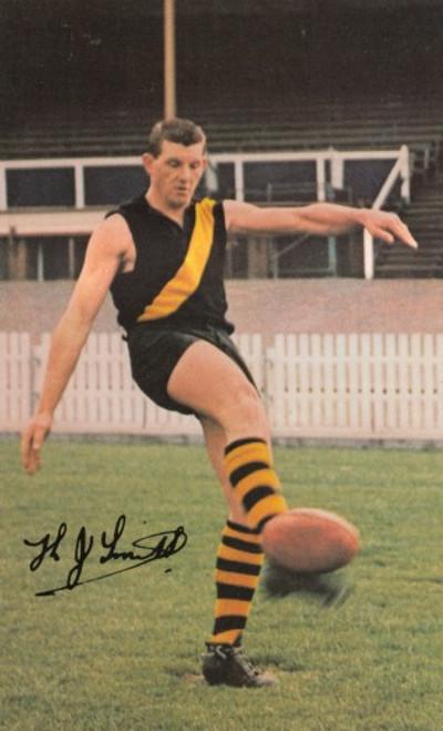 1965 Mobil Football Photos Card KEVIN SMITH Richmond Tigers