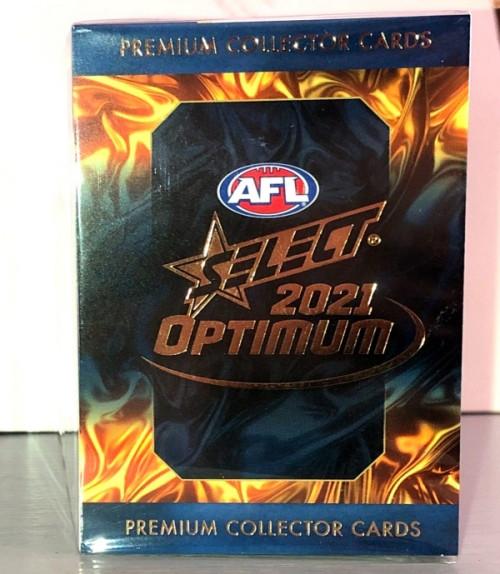 2021 AFL SELECT OPTIMUM 217 CARD BASE SET