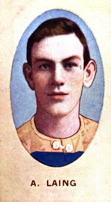 1910 Sniders & Abrahams E Series Carlton Blues A LAING Cigarette Card