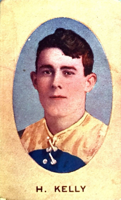 1910 Sniders & Abrahams E Series Carlton Blues H KELLY Cigarette Card