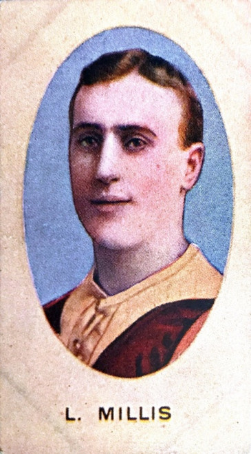 1910 Sniders & Abrahams E Series Fitzroy Lions L MILLS Cigarette Card