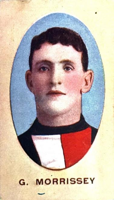 1910 Sniders & Abrahams E Series St Kilda Saints G MORRISSEY Cigarette Card
