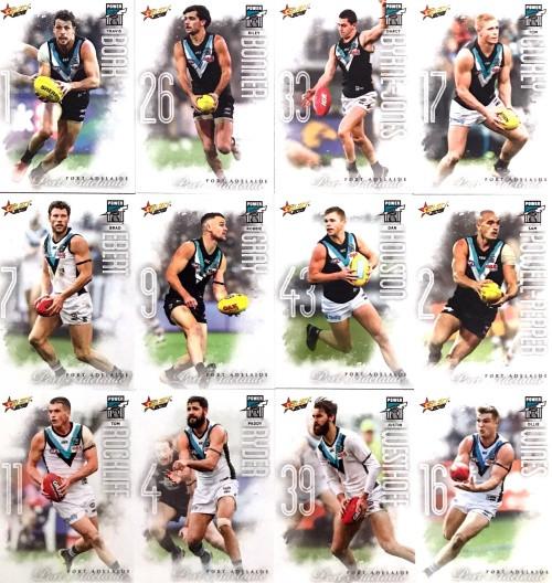 2020 AFL Footy Stars Port Adelaide Power Base Team Set