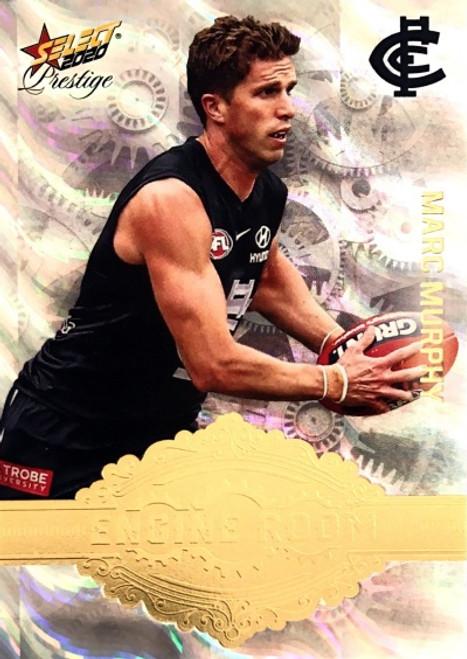 2020 AFL Footy Stars Prestige Carlton Blues MARC MURPHY Engine Room Card