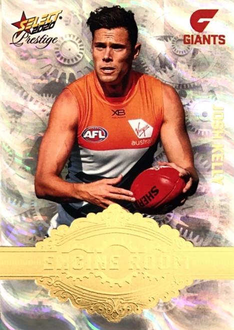 2020 AFL Footy Stars Prestige Greater Western Sydney Giants Engine Room JOSH KELLY card