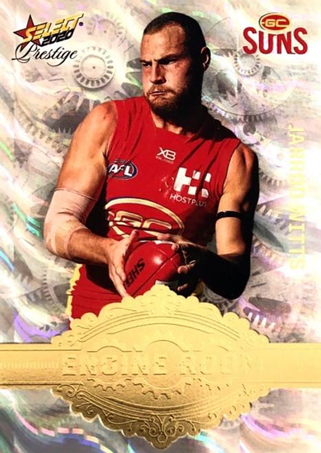 2020 AFL Footy Stars Prestige Gold Coast Suns Engine Room Card JARROD WITTS
