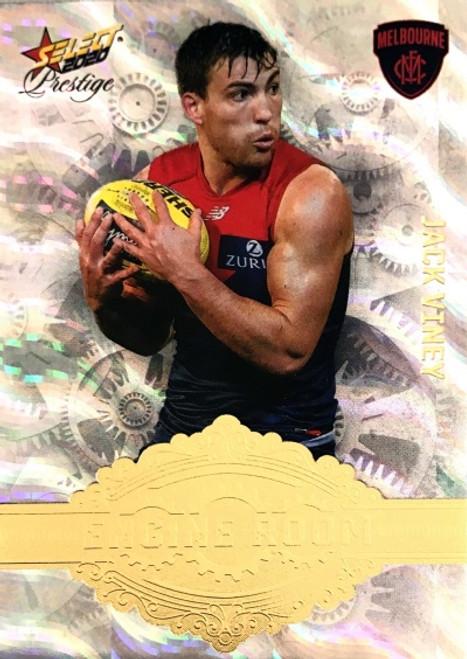 2020 AFL Footy Stars Prestige Melbourne Demons JACK VINEY Engine Room Card