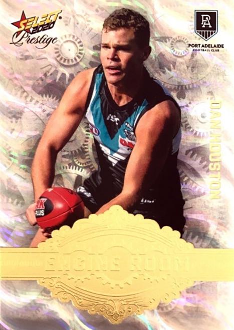 2020 AFL Footy Stars Prestige Port Adelaide Power DAN HOUSTON Engine Room Card #10