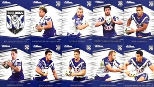 2020 NRL Traders Canterbury Bulldogs Base Team Set