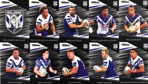 2020 NRL Traders Canterbury Bulldogs Parallel Team Set