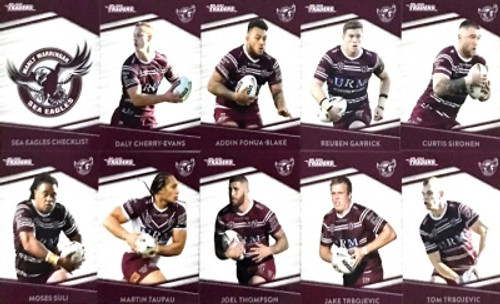 2020 NRL Traders Manly Sea-Eagles Base Team Ser