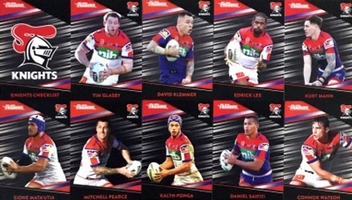 Copy of 2020 NRL Traders NEWCASTLE KNIGHTS Parallel Team Set