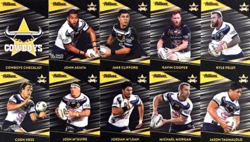 2020 NRL Traders NORTH QUEENSLAND COWBOYS Parallel Team Set
