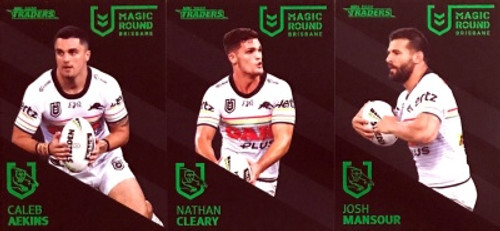 2020 NRL Traders PENRITH PANTHERS Magic Round 3 Card Set