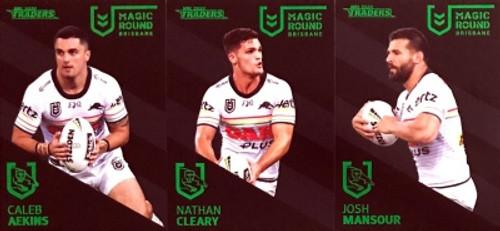 2020 NRL Traders PENRITH PANTHERS Magic Round 3 Card Set