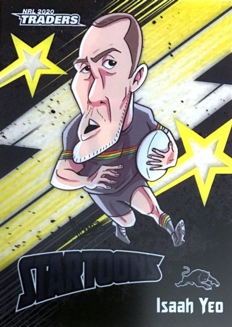 2020 NRL Traders Penrith Panthers Startoons ISAAH YEO Card