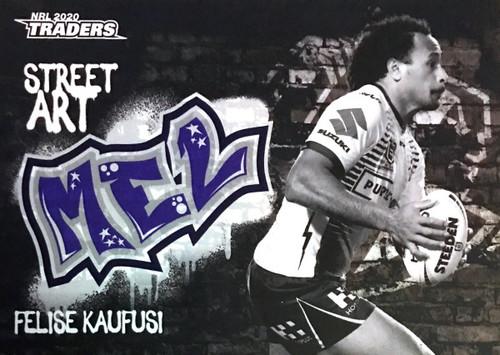 2020 NRL Traders Melbourne Storm SABK07/16 FELISE KAUFUSI Street Card