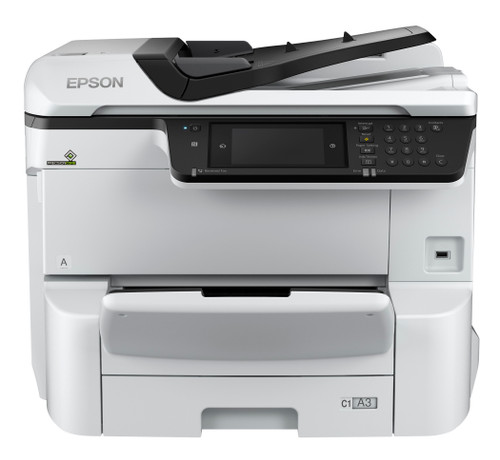 WorkForce Pro WF-C8690 A3 Color MFP with PCL/PostScript lease for 39.95