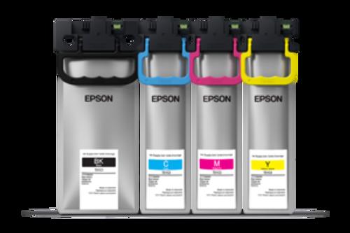 Epson Workforce C579R Standard Capacity Ink. Black 10K yield. Color 5K yield.