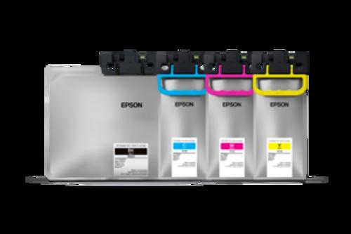 Epson Workforce C579R High Capacity Ink. Black 50K yield. Color 20K yield.