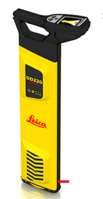 Leica DD220 SMART Utility Locator Solution