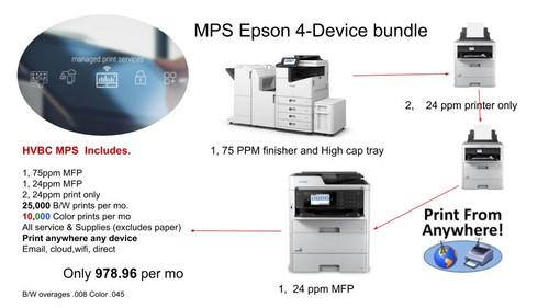 Managed Print Service Epson 4 Device Bundle
