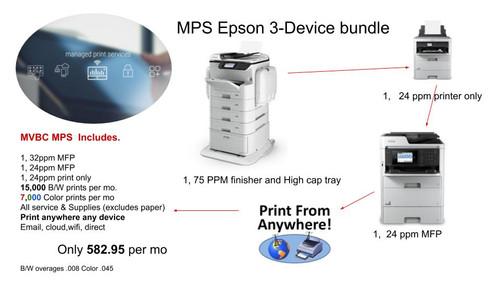 Managed Print Service Epson 3 Device Bundle