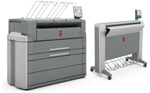 Oce PlotWave 750 printer 4 roll MFP PDF & TC4  Scanner Lease $570