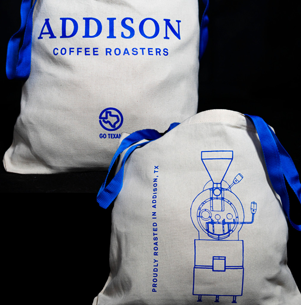 Addison Coffee Roasters  Canvas Tote