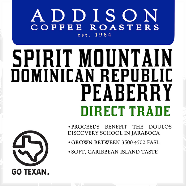 Spirit Mountain Peaberry