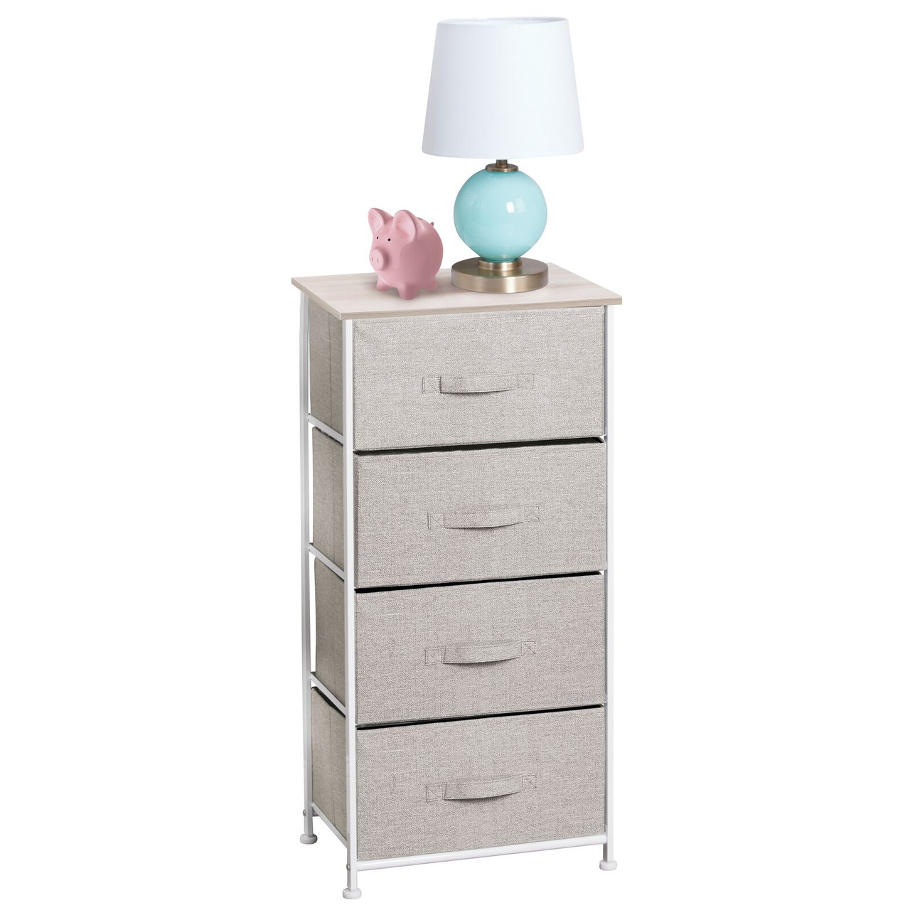 Nursery Dresser Tower for Bedroom Wide Dark Indigo Hallway Closets ROMOON Dresser Organizer with 5 Drawers Fabric Storage Drawer Unit Entryway
