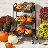 Fall Décor and Candy Displays
