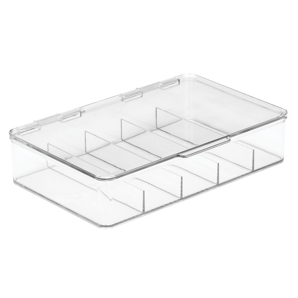 5 Section Divided Storage Box for First Aid Kit and Supplies - Pack of 2