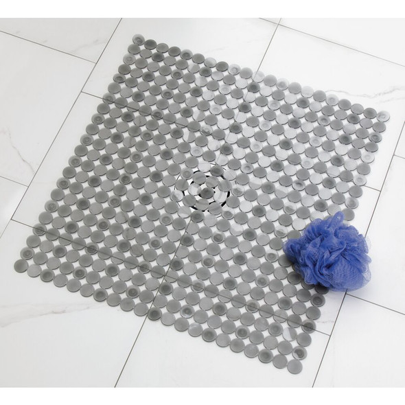 Dynamovolition Candy Color Multifunction Puzzle Pad Removable Bath Mat Non-slip Massage Shower Mat Home Bathroom Accessories