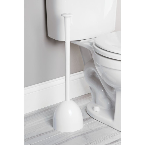 Heavy Duty Modern Design Toilet Bowl Plunger with Drip Tray