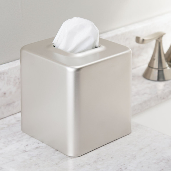 Metal Square Facial Tissue Box Holder - Pack of 4