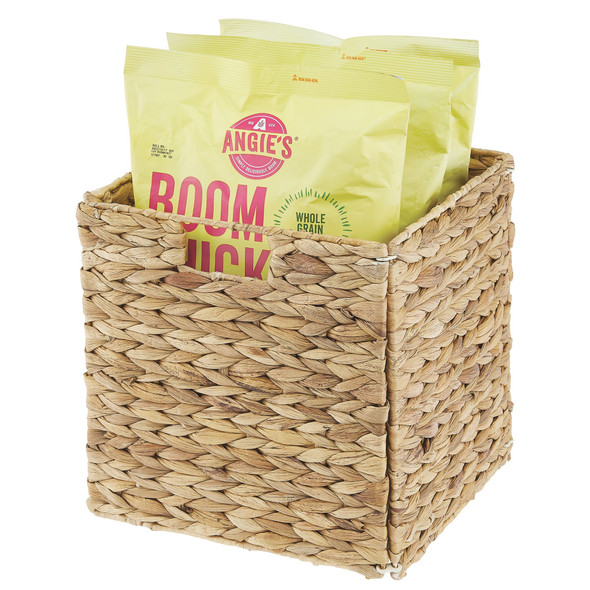 """Woven Pantry Storage Cubes with Handles - 10.5"""" x 10.5"""" x 10.5"""""""