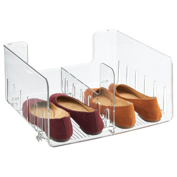 Stacking Plastic Shoe Organizer