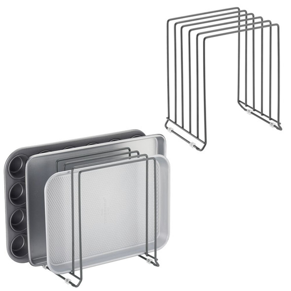 Metal Cookware Organizers - Pack of 2