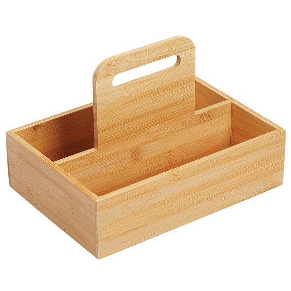 Bamboo Bath Tote with Handle