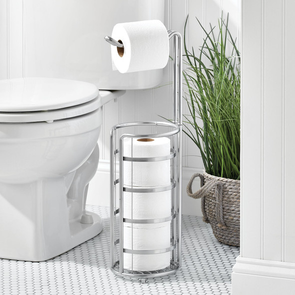 Metal Toilet Paper Stand and Holder