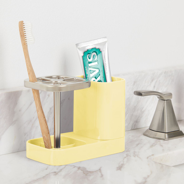 Countertop Toothbrush Center for Bathroom