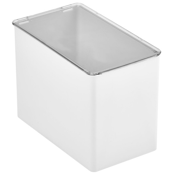 Plastic Stackable Kitchen Boxes with Lid - Pack of 4