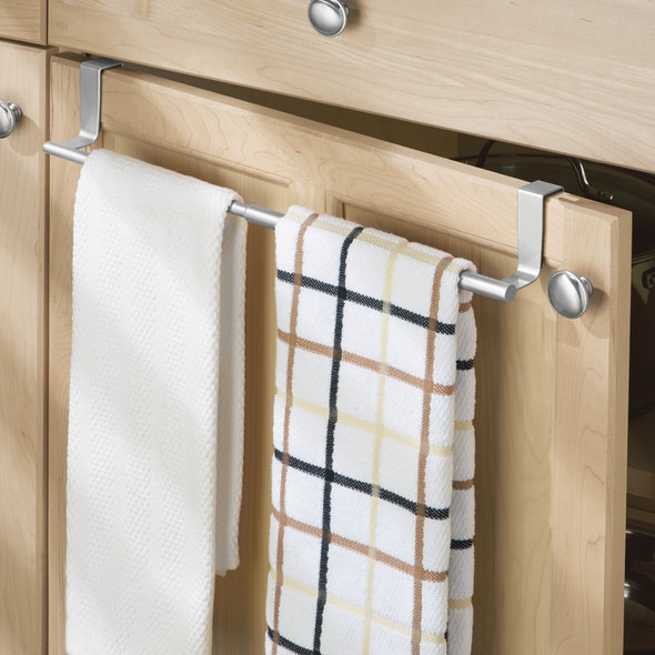 Expandable Over Cabinet Door Towel Bar for Home